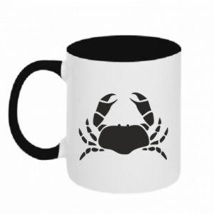Two-toned mug Crab - PrintSalon