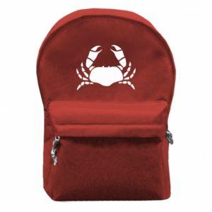 Plecak z przednią kieszenią Crab