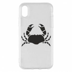 Etui na iPhone X/Xs Crab