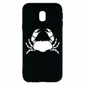 Etui na Samsung J3 2017 Crab