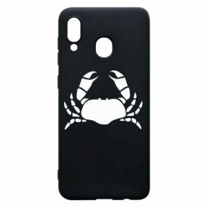 Etui na Samsung A20 Crab