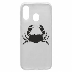 Etui na Samsung A40 Crab