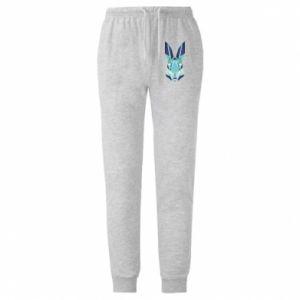 Spodnie lekkie męskie Crawl graphics green