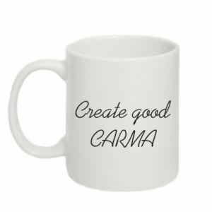 Kubek 330ml Create good karma