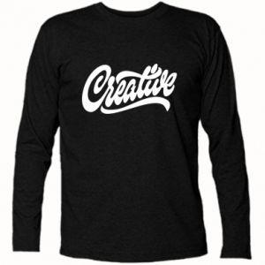 Koszulka z długim rękawem Creative