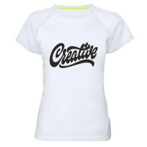 Damska koszulka sportowa Creative