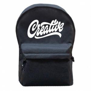 Plecak z przednią kieszenią Creative