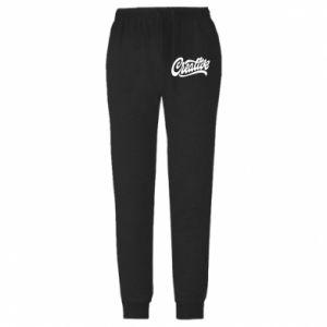 Męskie spodnie lekkie Creative