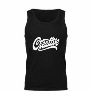 Męska koszulka Creative