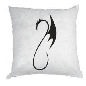 Poduszka Crochet dragon