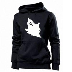 Women's hoodies Crooked face - PrintSalon