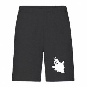 Men's shorts Crooked face - PrintSalon