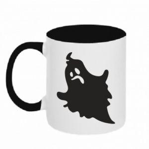 Two-toned mug Crooked face - PrintSalon