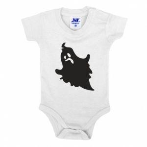 Baby bodysuit Crooked face - PrintSalon