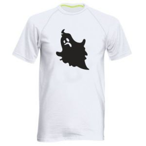 Men's sports t-shirt Crooked face - PrintSalon