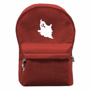 Backpack with front pocket Crooked face - PrintSalon