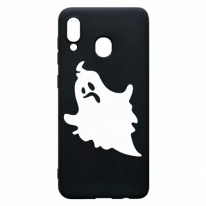 Phone case for Samsung A20 Crooked face - PrintSalon