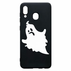 Phone case for Samsung A30 Crooked face - PrintSalon