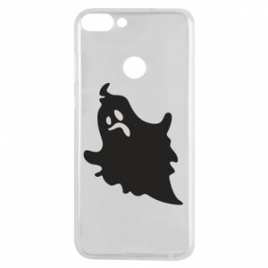 Phone case for Huawei P Smart Crooked face - PrintSalon