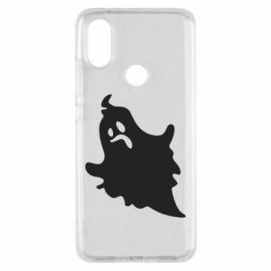Phone case for Xiaomi Mi A2 Crooked face - PrintSalon