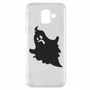 Phone case for Samsung A6 2018 Crooked face - PrintSalon