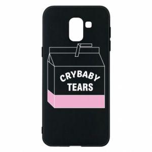 Samsung J6 Case Cry Baby Tears