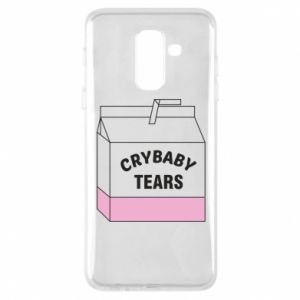 Phone case for Samsung A6+ 2018 Cry Baby Tears