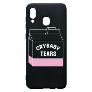Samsung A20 Case Cry Baby Tears