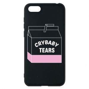 Huawei Y5 2018 Case Cry Baby Tears