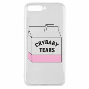 Huawei Y6 2018 Case Cry Baby Tears
