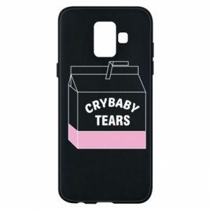 Etui na Samsung A6 2018 Cry Baby Tears