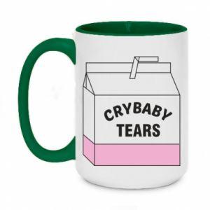Two-toned mug 450ml Cry Baby Tears