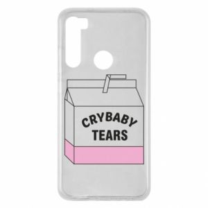 Xiaomi Redmi Note 8 Case Cry Baby Tears