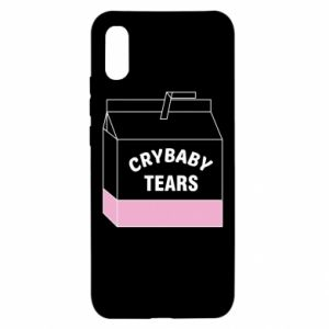 Xiaomi Redmi 9a Case Cry Baby Tears