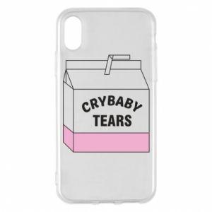 Etui na iPhone X/Xs Cry Baby Tears
