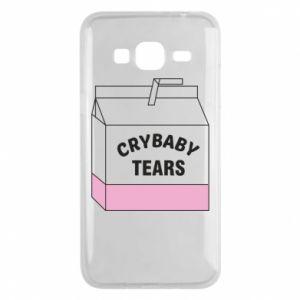 Samsung J3 2016 Case Cry Baby Tears