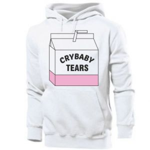 Męska bluza z kapturem Cry Baby Tears