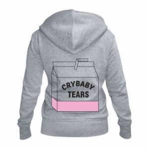 Damska bluza na zamek Cry Baby Tears