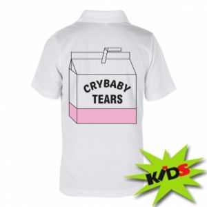 Children's Polo shirts Cry Baby Tears