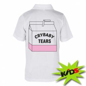 Dziecięca koszulka polo Cry Baby Tears