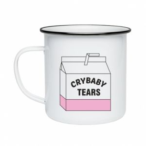 Enameled mug Cry Baby Tears
