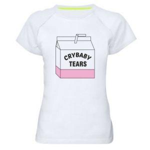Damska koszulka sportowa Cry Baby Tears