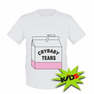 Kids T-shirt Cry Baby Tears