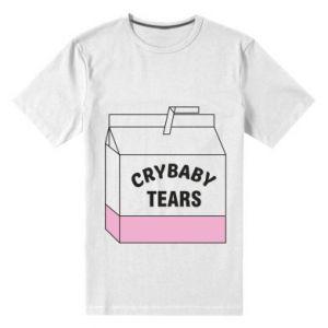 Męska premium koszulka Cry Baby Tears