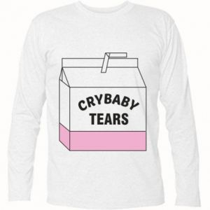 Long Sleeve T-shirt Cry Baby Tears