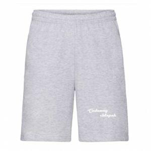 Men's shorts Wonderful boy - PrintSalon