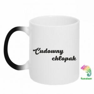 Chameleon mugs Wonderful boy - PrintSalon