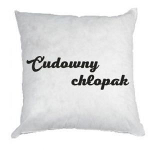 Pillow Wonderful boy - PrintSalon