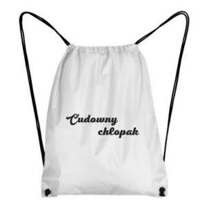 Backpack-bag Wonderful boy - PrintSalon