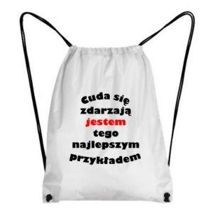 Plecak-worek Cuda się zdarzają